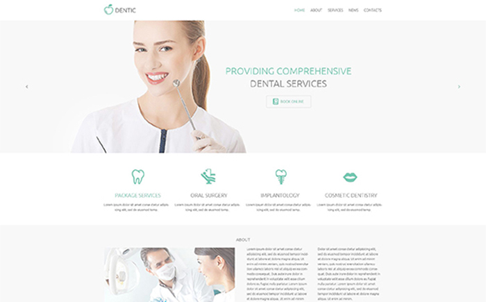 Dentic WordPress Theme