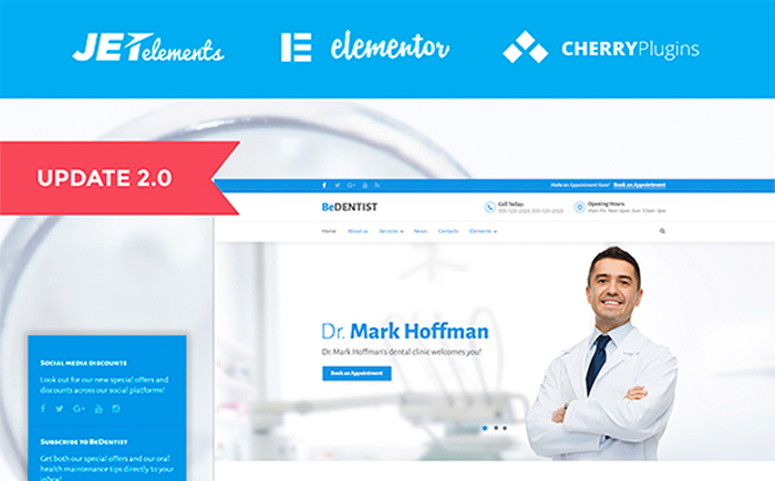 BeDentist - Dentist & Medical WordPress Theme
