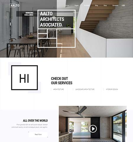 Alto portfolio WordPress themes