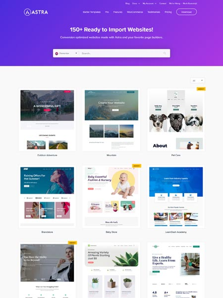 Astra Best Multipurpose WordPress themes