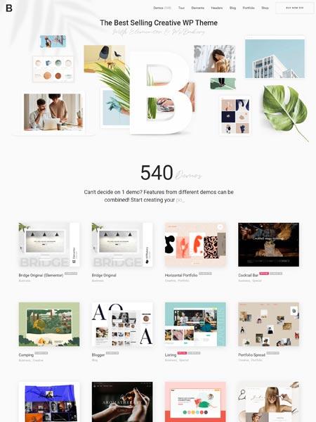 Bridge Best Multipurpose WordPress themes