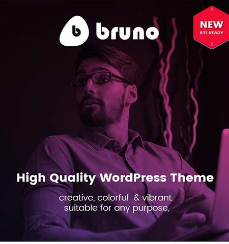 Bruno portfolio WordPress themes