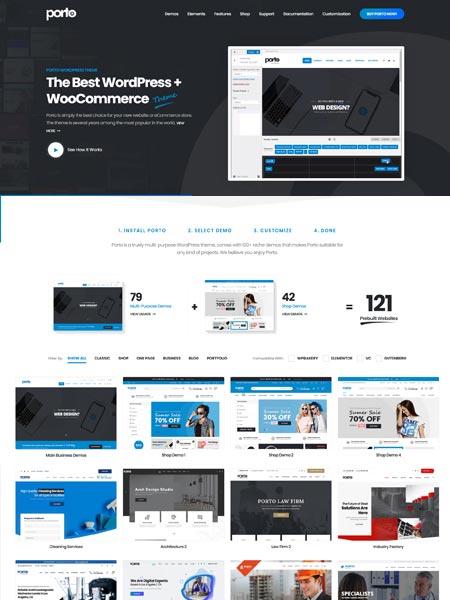 Porto Best Multipurpose WordPress themes