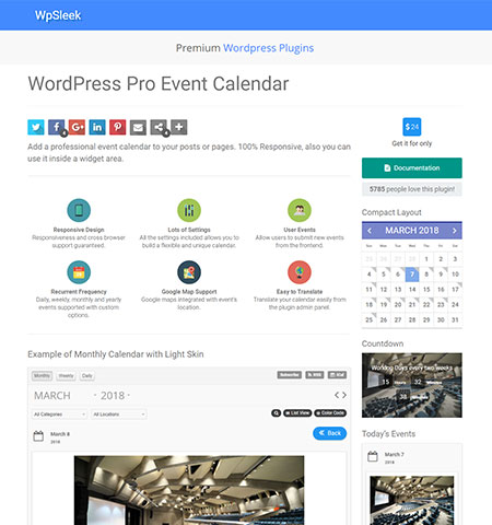 Best event calendar plugins