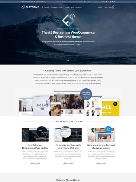 Flatsome Best Multipurpose WordPress themes