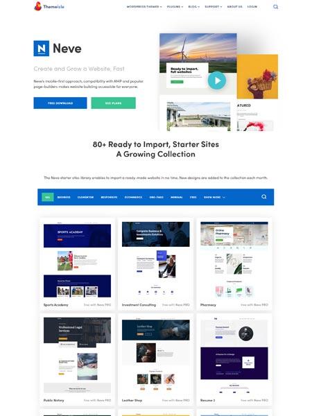 Neve Best Multipurpose WordPress themes