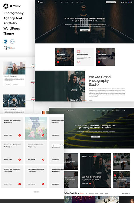 portfolio website wordpress