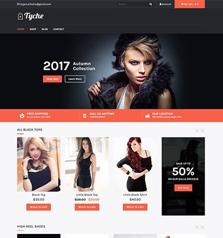 Tyche - WordPress woocommerce themes