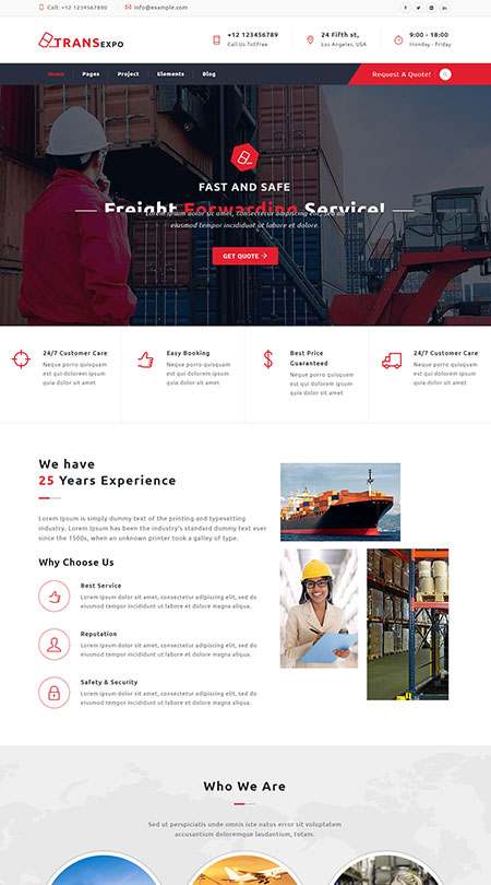 corporate website templates