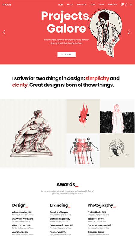 cool wordpress themes