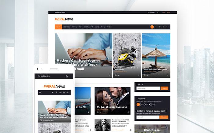 Media News WordPress Theme