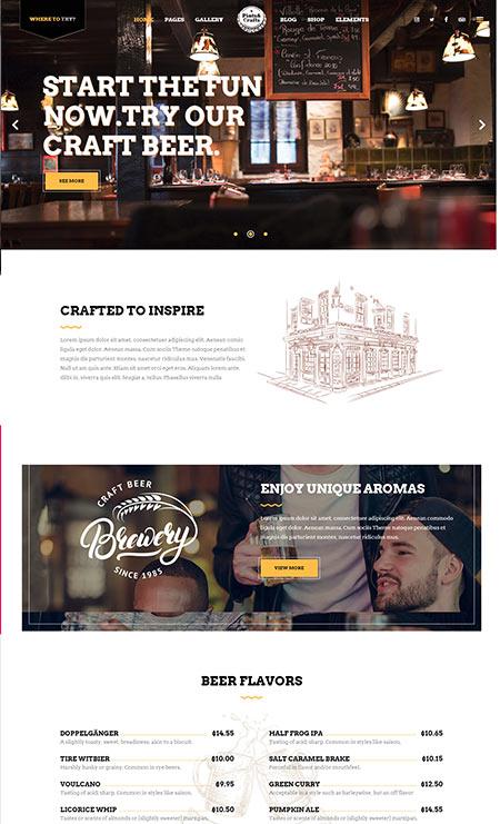 dj website templates