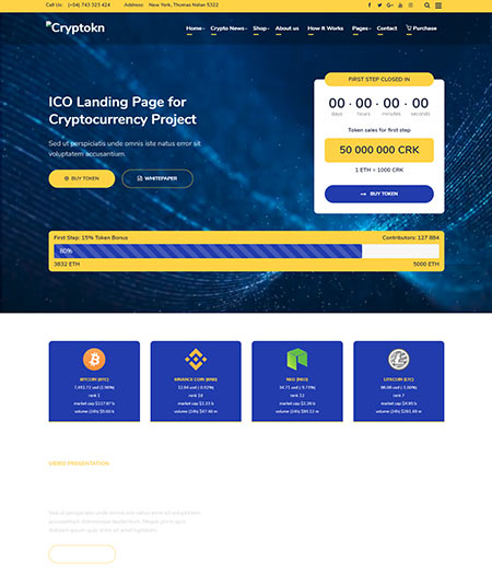one page landing page wordpress