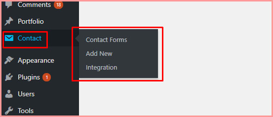 install contact form 7