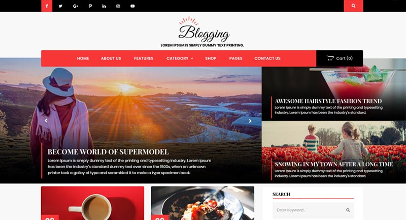 Advance Blogging