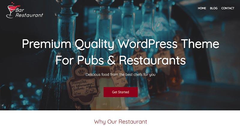 Bar Restuarant