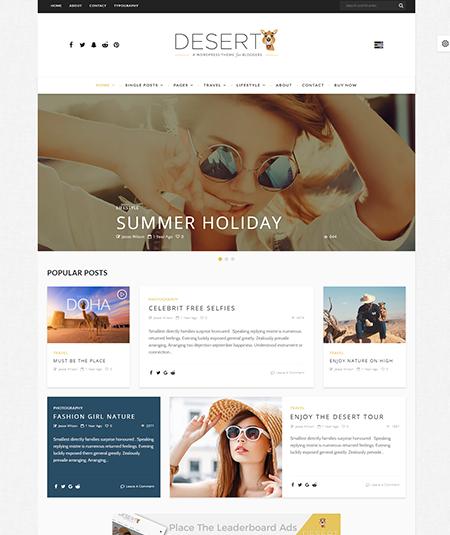 wordpress travel agency theme