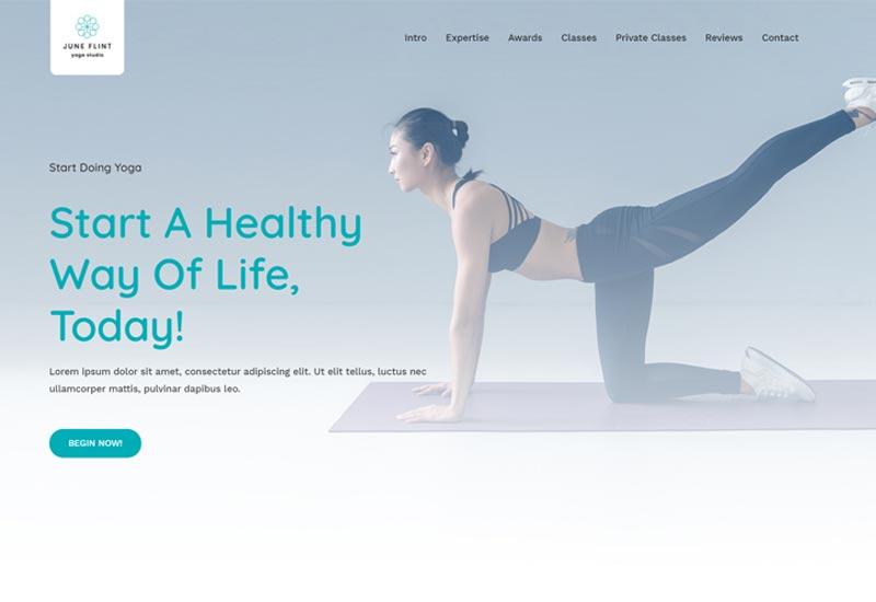 Astra Free WordPress Themes For Yoga Teachers