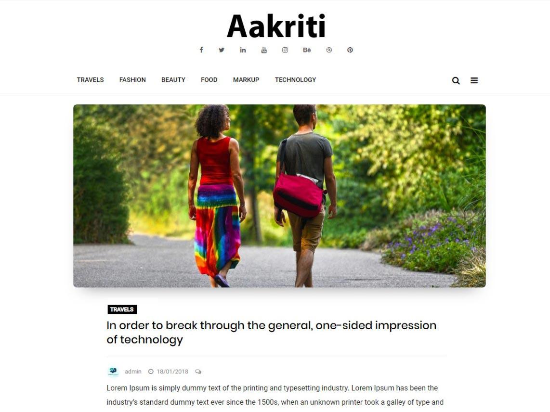 Aakriti Personal Blog