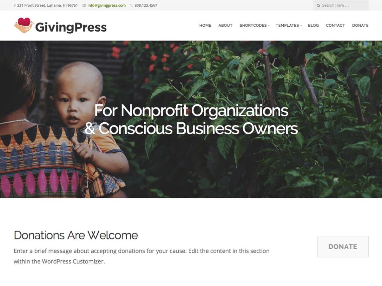 GivingPress Lite.