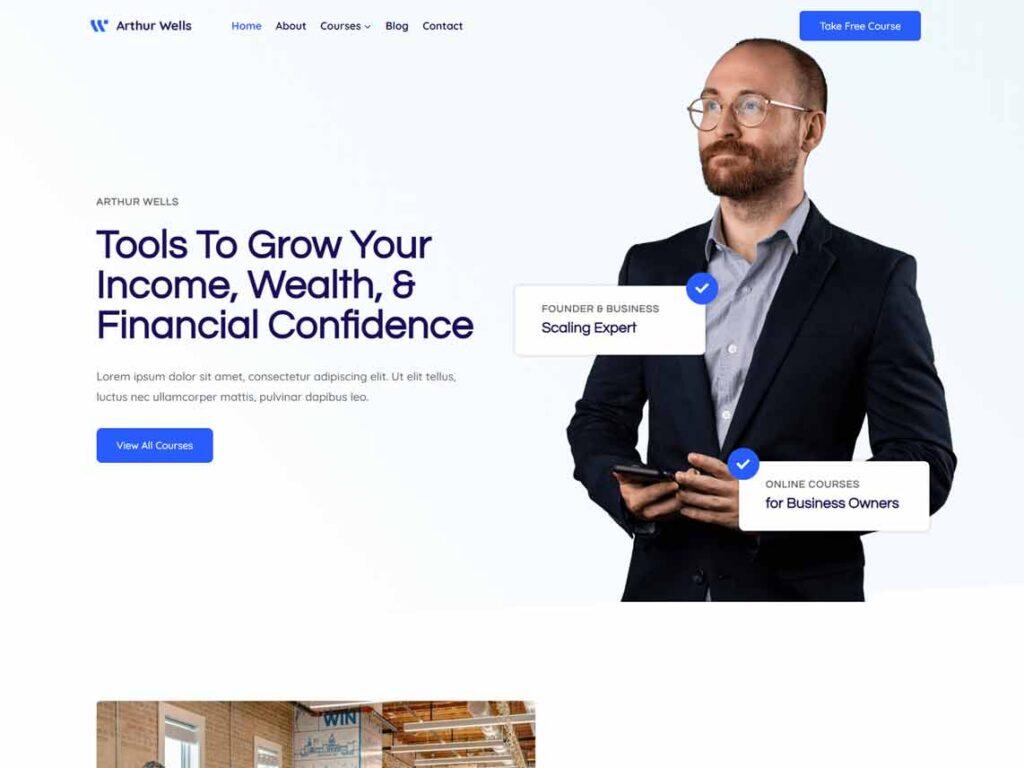 KadenceWP - Personal Branding WordPress Theme