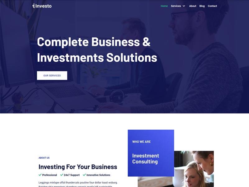 Neve business website