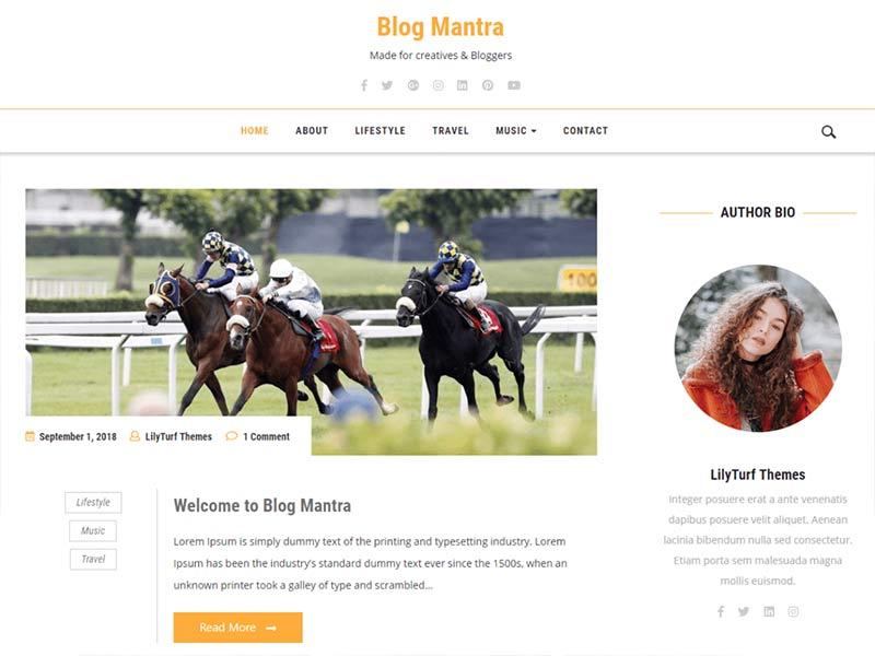 Blog Mantra