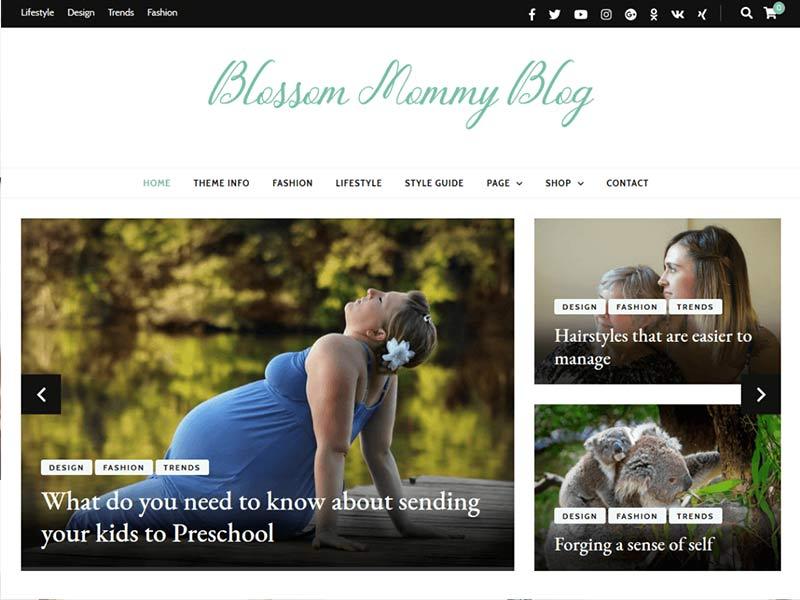 Blossom Mummy Blog
