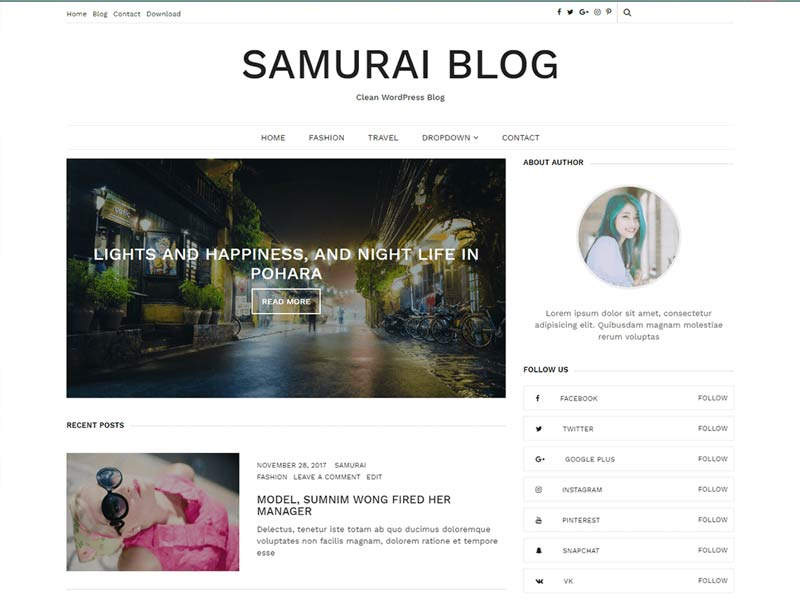 SAMURAI BLOG