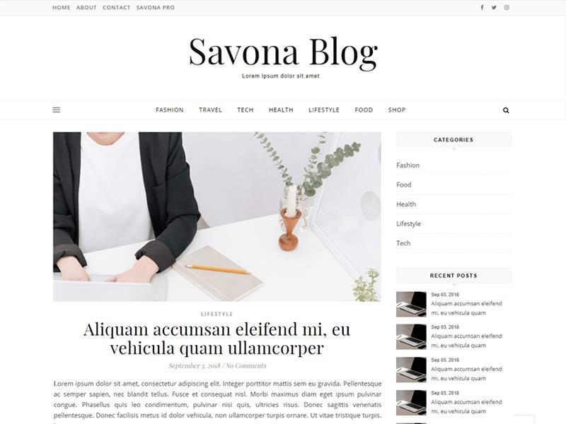 Savona Blog