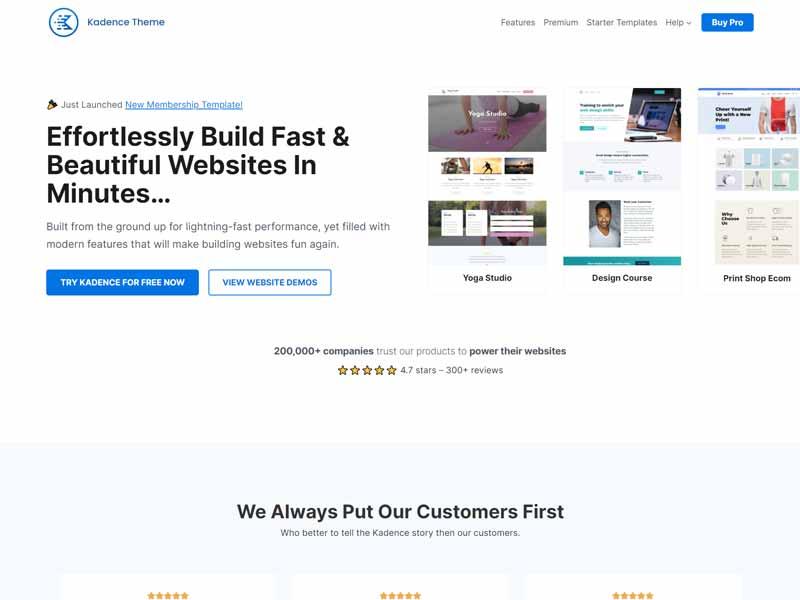 KadenceWP Free WordPress Themes For Interior Design