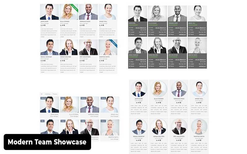 Modern-Team-Showcase