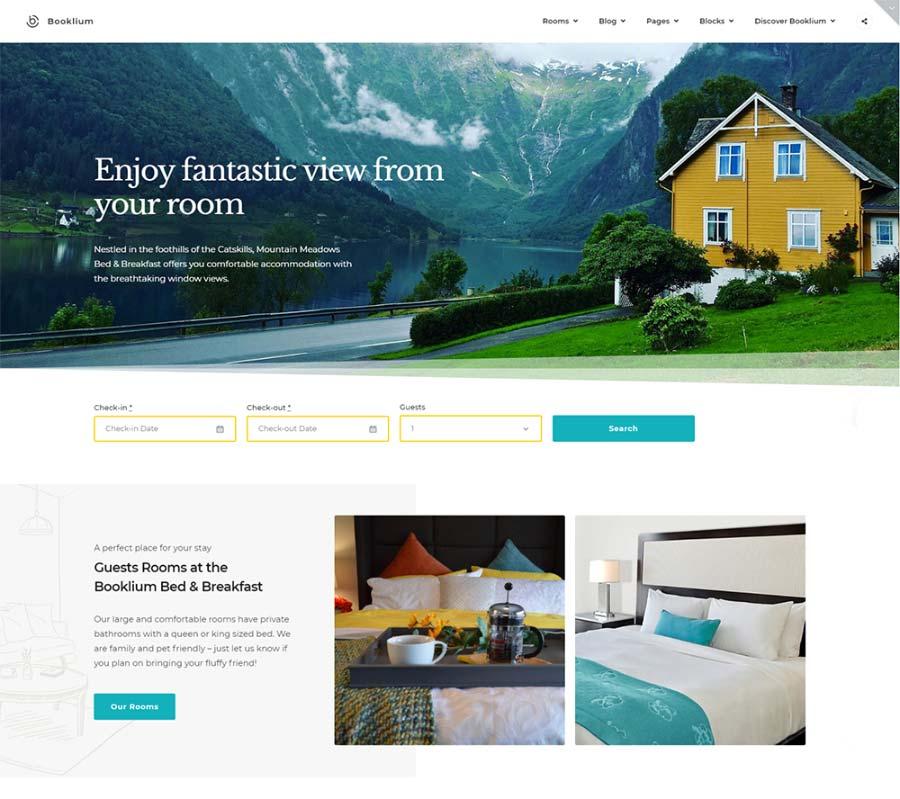 Bookleum Best Hotel Booking WordPress Theme