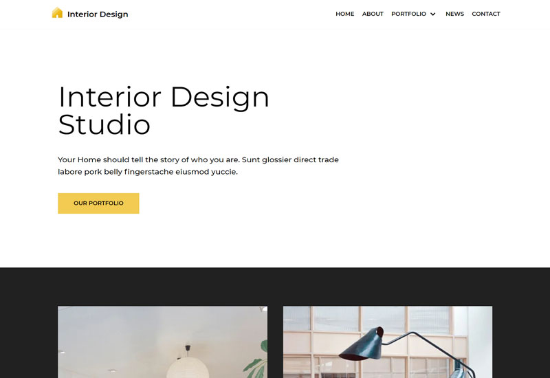 Neve Free WordPress Themes For Interior Design
