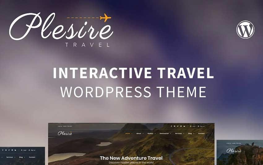 Plesire Best Hotel Booking WordPress Theme