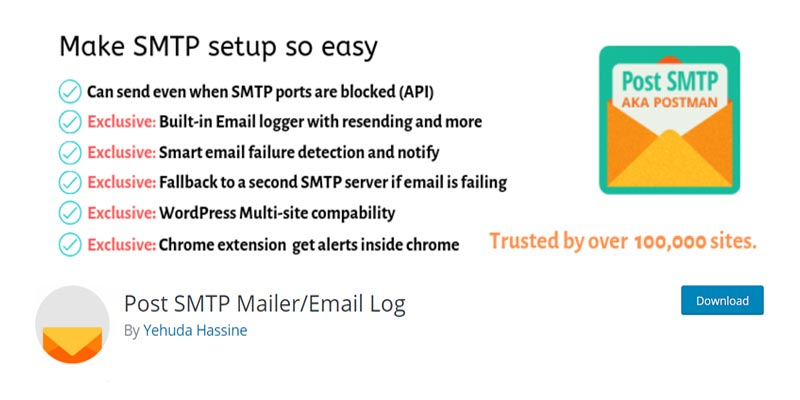 Post SMTP Mailer/Email Log