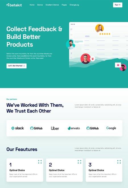 Betakit – WordPress Theme for Creative Agency