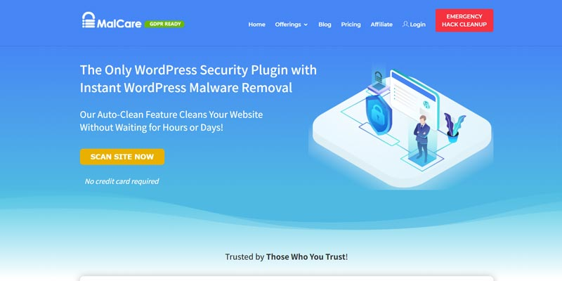 Malcare must have plugins for wordpress