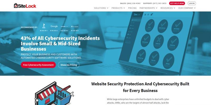 SiteLock wordpress security