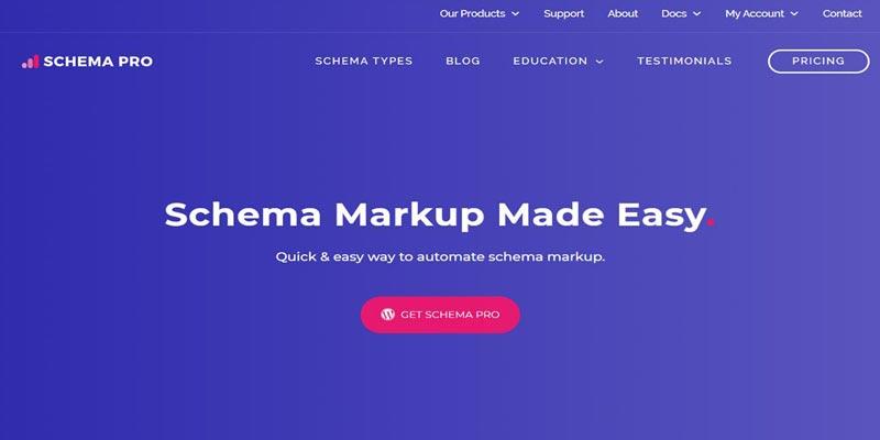 Schema pro - Schema markup plugin