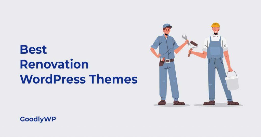 Best renovation WordPress Theme